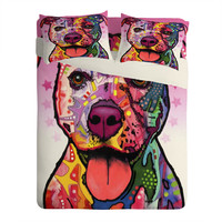 Dean Russo Cherish The Pitbull Sheet Set Lightweight