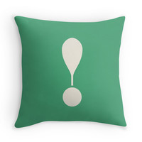 Exclamation Point - Decor Pillow