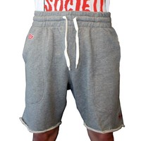 FAZE Sweat Shorts in heather grey