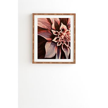 John Turner Jr Flower Framed Wall Art