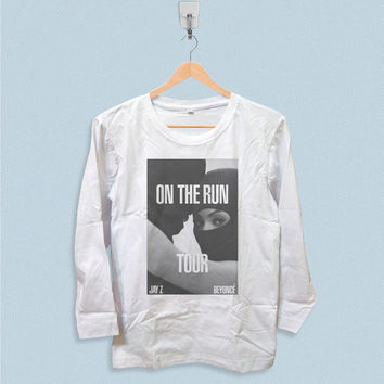 Long Sleeve T-shirt - Beyonce and Jay Z on The Run Tour