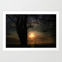 Moody blues Art Print by  Alexia Miles Photography