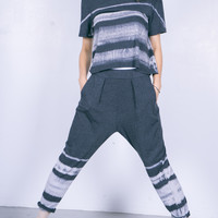 Easy Pant Black Watercolor