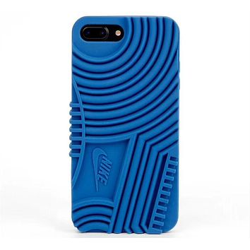 NIKE Air Force 1 New Stylish iPhone 6/7/8/X Phone Case Cover F-OF-SJK blue