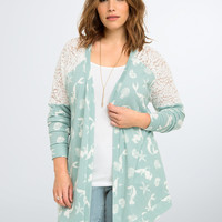 Disney Ariel Collection Shell Drape Cardigan