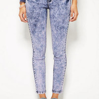 Delia's Liv High-Waist Jegging in Lilac Delight