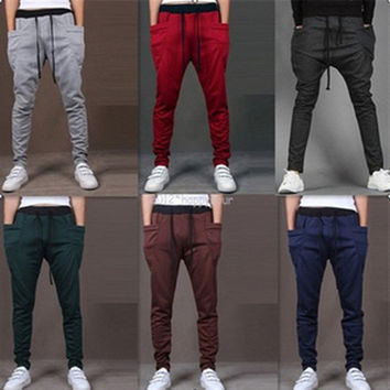 Mens Trendy Harlem Sweat Pants