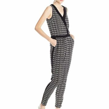 Adrianna Papell - Crossover Graphic Jumpsuit 16PD10320