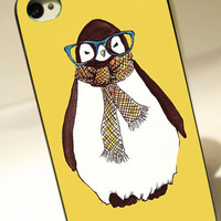 Skin Penguin animal - for iPhone 4/4S case iPhone 5 case Samsung Galaxy S2/S3/S4 case hard case