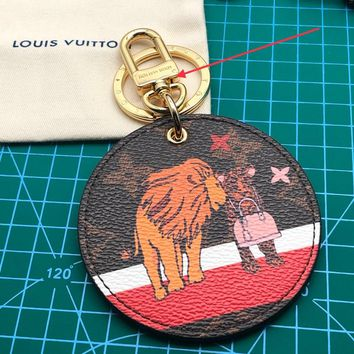 Louis Vuitton Lv M63750 Xmas Animals Bag Charms & Key Chains