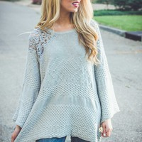 Chloe Crochet Sweater