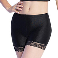 High Quality Women Safety Shorts Spandex Pants  Cool Shorts Sexy Lace Seamless Women's Panties Under Safety Underwear SM6