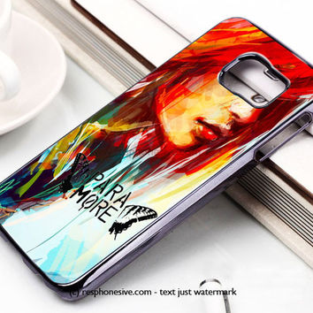 Hayley Williams Paramore Samsung Galaxy S6 and S6 Edge Case