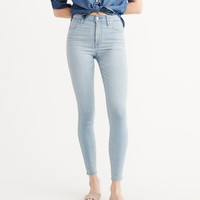 Womens Sateen Ultra Skinny Jeans | Womens New Arrivals | Abercrombie.com