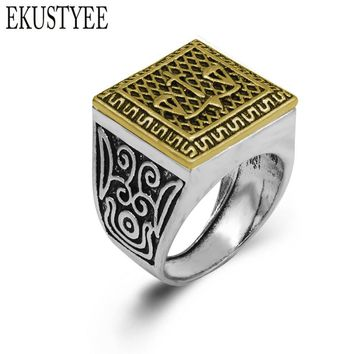 2018 High Quality Double Color Vintage Ring