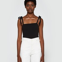 Farrow / Shoulder Tie Bodysuit