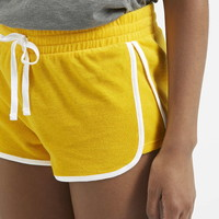 Towelling Runner Shorts - Topshop