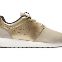 Nike WMNS Roshe One PRM Suede Gold | Blue&Cream