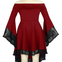 Venom Gothic Lace Dress PLUS SIZES