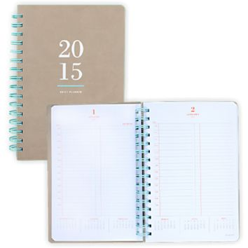 Collection Daily Planner Medium (YP102) | AT-A-GLANCE