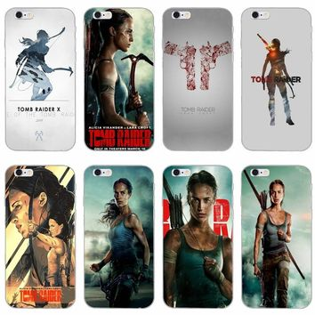 Tomb Raider 2018 Lara Croft slim silicone Soft phone case For LG G2 G3 mini spirit G4 G5 G6 K4 K7 K8 K10 2017 V10 V20