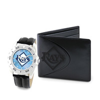 Tampa Bay Rays MLB Men's Watch & Wallet Set