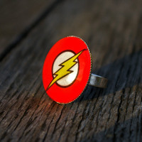 Flash- adjustable ring
