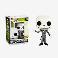 Funko The Nightmare Before Christmas Diamond Collection Pop! Jack Skellington Vinyl Figure Hot Topic Exclusive