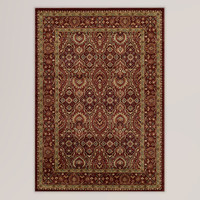 Red Feather Rug - World Market
