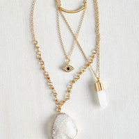 Boho Mystical Manners Necklace by ModCloth
