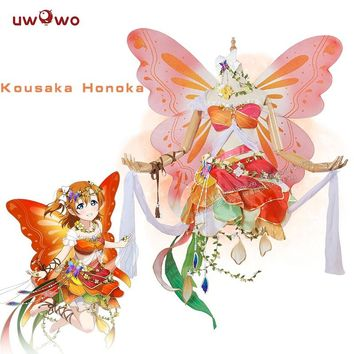Honoka Kousaka Cosplay Love Live! School Idol Project lovelive Flower Fairies Idolized Awakening Uwowo Costume Women