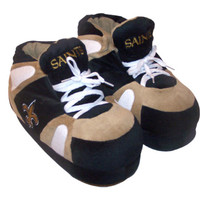 New Orleans Saints NFL Team Slippers : NFL : Happy Feet Slippers : BuyHappyFeet.com : Comfy Feet Slippers