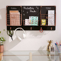 Chalkboard Wall Storage Organizer | Urban Outfitters