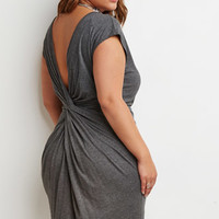 Knotted-Back Shift Dress