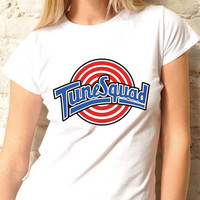 Space Jam Tune squad logo design for women Tshirt size S,M,L,XL,2XL,3XL