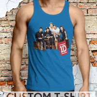One Direction My Favorite Boys Men Tanktop - Lzi Tanktop For Men  / Custom - Tanktop / Men Tanktop