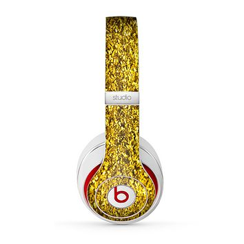 The Gold Glimmer Skin for the Beats by Dre Studio (2013+ Version) Headphones