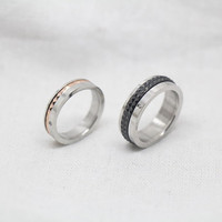 2pc-Free Engraving,,925 silvers promise rings plate with the purple platinum,couples ring