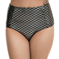 Silver Mermaid Swim Bottoms