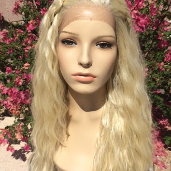 Professional Lace Front Daenerys Qarth Inspired Game Thrones Mother Dragons Wig