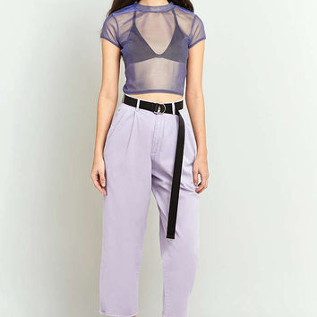 Urban Renewal Vintage Customised Overdyed Lilac Chino Trousers - Urban Outfitters