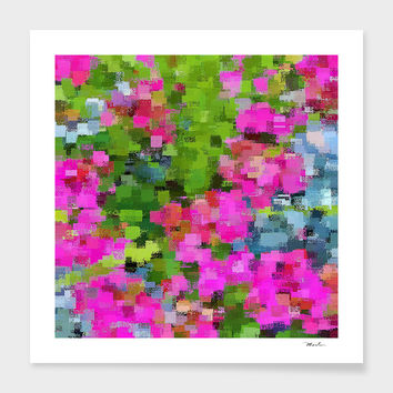 «FlowerGarden» Art Print by David Manlove - Numbered Edition from $24.9 | Curioos