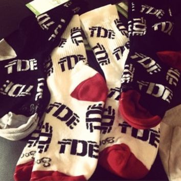 TopDawgEnt — TDE Cotton Socks