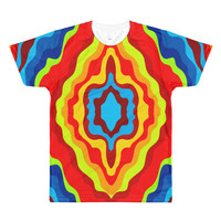 All-Over Printed T-Shirt colorful