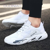 Vintage Dad Men Shoes 2019 Kanye West Fashion Mesh Light Breathable Men Casual Shoes Men Sneakers Zapatos Hombre Tenis Superstar