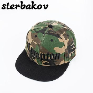 Trendy Winter Jacket sterbakov Brand Camo Runing Letter Snapback Baseball Cap Camouflage Hip Hop Hat For Men Women Street Dance Fashion Aba Reta Pink AT_92_12