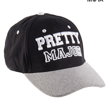 Aeropostale Womens Pretty Major Baseball Cap - Black, One