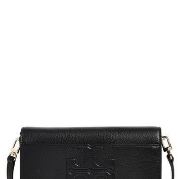 Tory Burch 'Small Bombe T' Leather Convertible Crossbody Bag   Nordstrom