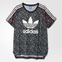 adidas Moscow Gold Trefoil Logo Tee - Multicolor | adidas US
