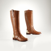LEATHER PARKER BOOT